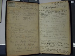 WW notebook, photo by MNS, Library of Congress